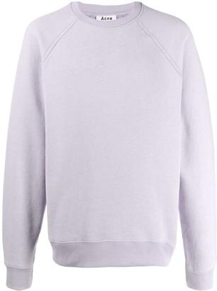 Acne Studios Reverse-Label Patch Sweatshirt