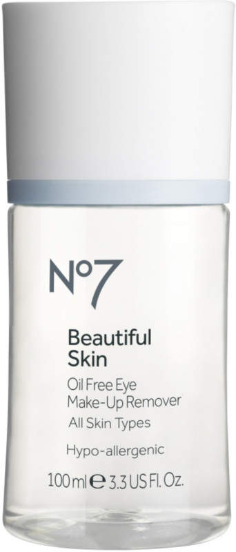 No7 Beautiful Skin Oil-Free Eye Makeup Remover