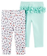 Carter's Child Of Mine By Child of Mine by Baby Girl Pants, 2-Pack