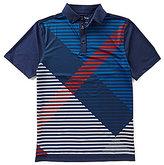 Bobby Jones XH20 Tribecca Printed Plaid Short-Sleeve Polo