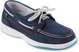 L.L. Bean Women's Lakeside Boat Shoes, Two-Eye