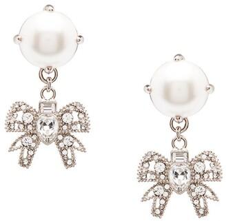 Miu Miu Micro Bow Jewels earrings