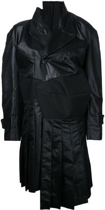 Comme Des Garçons Pre-Owned Deconstructed Trenchcoat