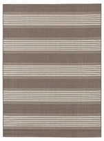 Outdoor Rug - Bold Stripe Taupe - Threshold