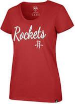 '47 Women's Houston Rockets Script Scoop T-Shirt