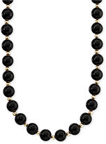Macy's 14k Gold Onyx Necklace