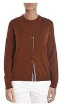 Altea Women's Brown Wool Cardigan.