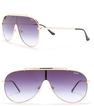 Quay 55mm El Dinero Aviator Sunglasses