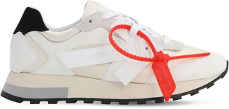 Off-White 30mm Hg Cotton Canvas & Suede Sneakers