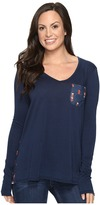 Rock and Roll Cowgirl Long Sleeve Tee 48T8195