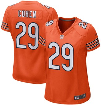 Nike Women's Tarik Cohen Orange Chicago Bears Game Jersey