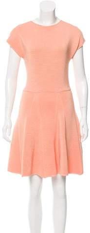 Genny Rib Knit A-Line Dress w/ Tags