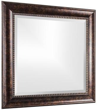 American Art Decor Hartley Bronze Antiqued Vanity Wall Mirror