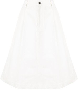 Marni A-line knee-length skirt