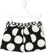 MSGM polka dot print shorts - kids - Polyester - 4 yrs