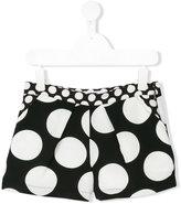 MSGM polka dot print shorts