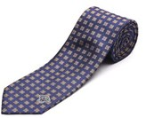 Versace Men's Medusa Head Slim Silk Necktie.