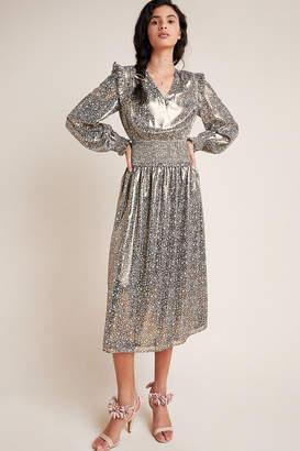 Lucia Shimmer Midi Dress
