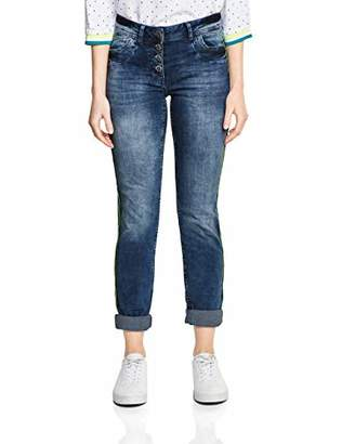 Cecil Women's 372013 Scarlett Straight Jeans,27W / 30L