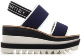 Stella McCartney Logo Strap Platform Sandals