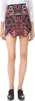Holly Fulton Print Miniskirt