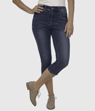 Lola Jeans Women's Lindsey Capri