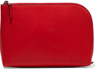 The Row Medium Square Leather Pouch