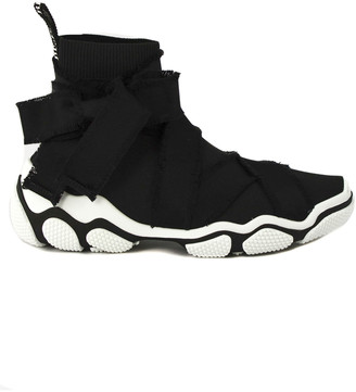 RED Valentino Black High-top Sneaker