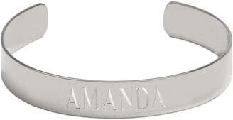 Jane Basch Designs Personalized Engraved Name Cuff