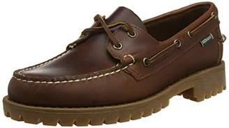 Sebago Men's Ranger Waxy Moccasins, Brown (Brown-Gum 925)