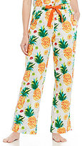 Sleep Sense Pineapple Poplin Sleep Pants