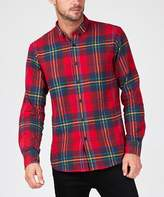 Spencer Project Chaos Shirt Red Yellow Flannel