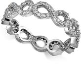 Giani Bernini Cubic Zirconia Infinity Ring in Sterling Silver, Created for Macy's