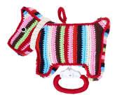 Anne Claire Crochet Dog Music Box - Multi