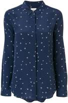 Closed star patterned shirt
