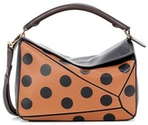 Loewe Puzzle dotted leather shoulder bag