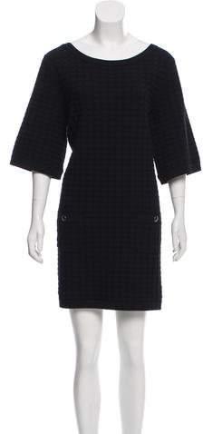 Chanel Textured Mini Dress