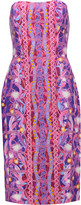 Peter Pilotto Printed stretch-crepe dress