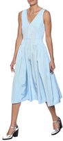 Babel Fair Chambray Pleated Dress
