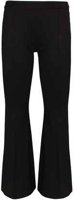 Rosetta Getty Flared Cropped Trousers