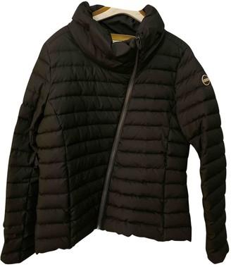 Colmar Black Leather Jacket for Women