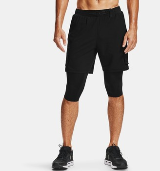 Under Armour Men's UA Run Anywhere 2-in-1 Long Shorts