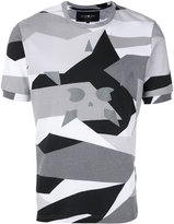 Hydrogen star print T-shirt - men - Cotton - XS