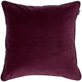 Gant Home Velvet Cushion - Purple Fig