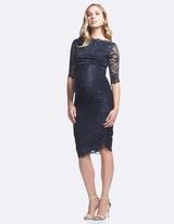 Soon Gigi Lace Maternity Dress