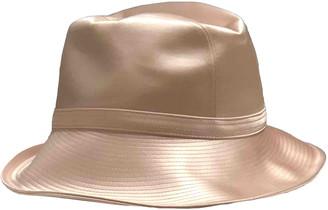 Philip Treacy Pink Cotton Hats