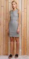 Greylin Sleeveless Rib Knit Cut Out Dress