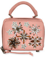 Rebecca Minkoff Jewel Box Leather Crossbody Bag