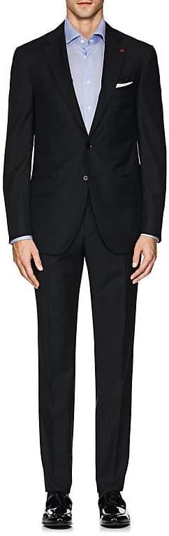 Isaia Men's Sanita Herringbone Wool Two-Button Suit