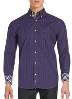 Tailorbyrd Contrast Plaid Shirt